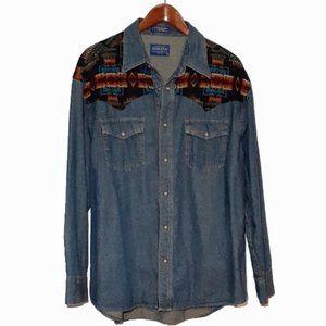 Pendleton Desperado Shirt - Chief Joseph XL